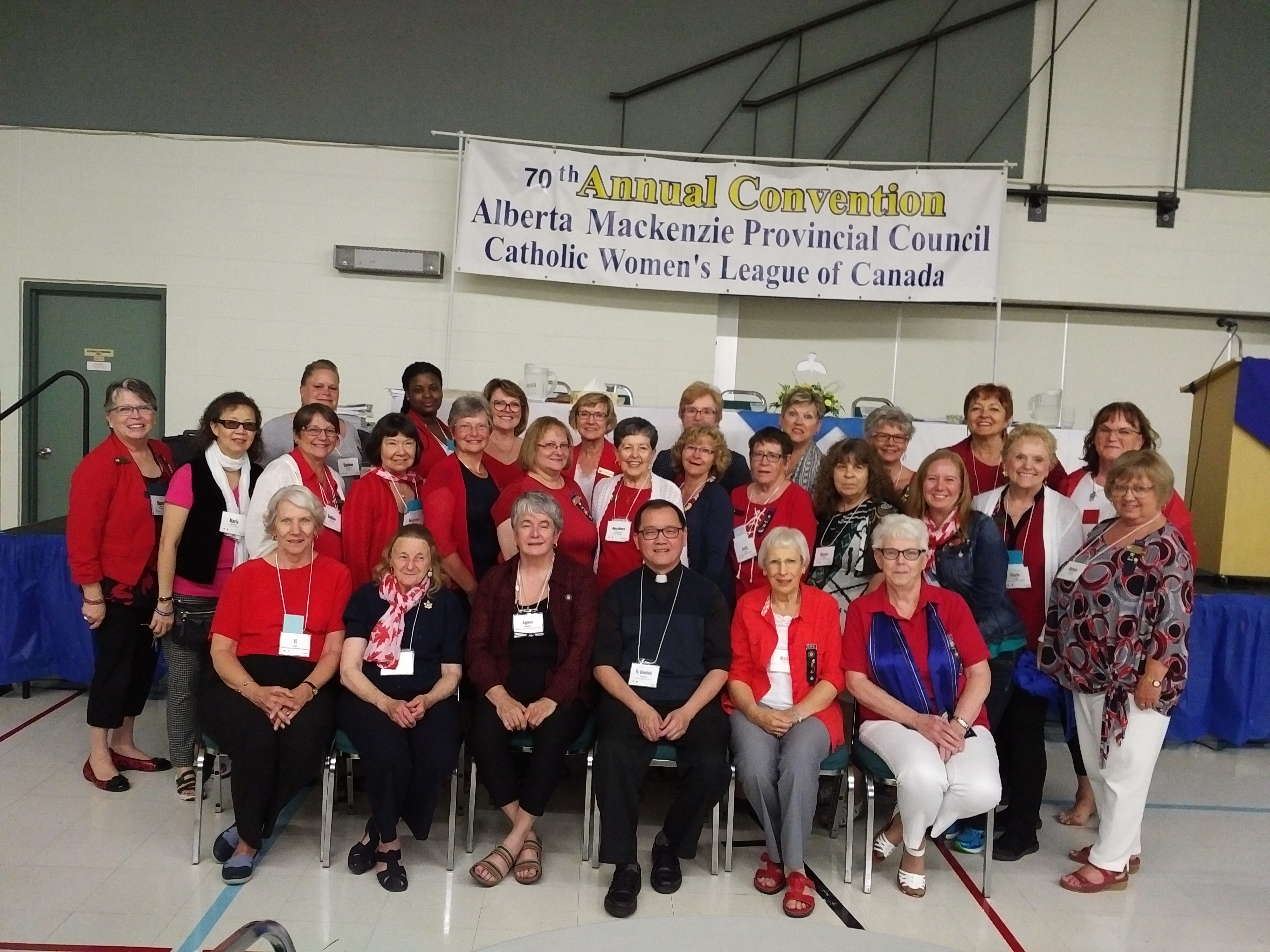 Calgary Diocesan attendees at 2017 Provincial CWL Convention